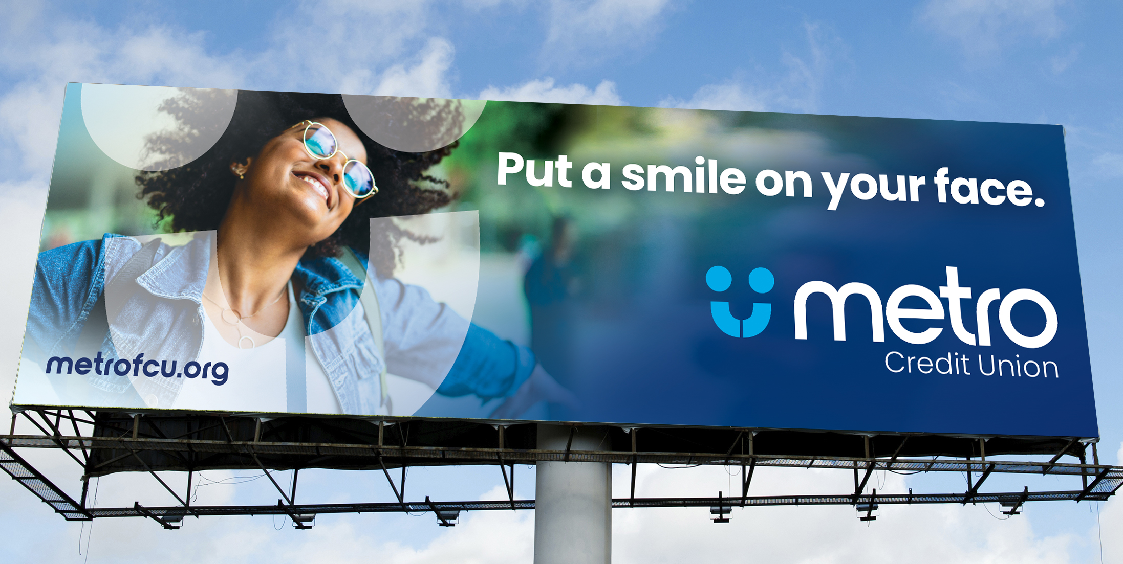Metro Credit Union billboard
